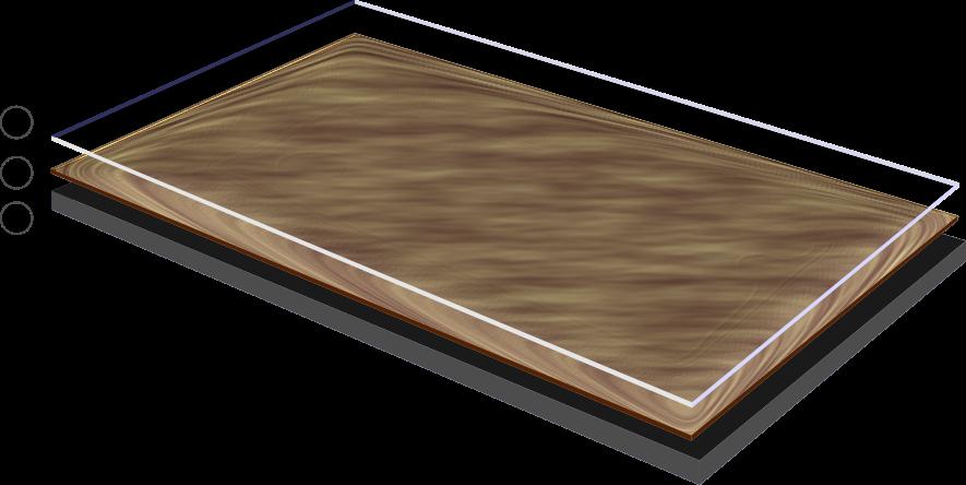 Конструкция каландрированного линолеума.